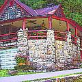 Old Log Cabin - Smoky Mountain Home by Rebecca Korpita