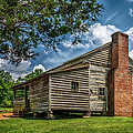 Smoky Mountain Pioneer Cabin E126 by Wendell Franks