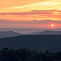 Smoky Mountain Sunset Colors by Kenneth Brooks