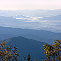 Smoky Mountains From Clingmans Dome by Melinda Fawver