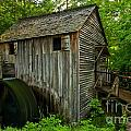 Smoky Mountains Grist Mill by Adam Jewell