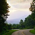 Smoky Mountains Scene by Melinda Fawver