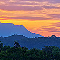Smoky Mountains Sunrise by Carolyn Derstine