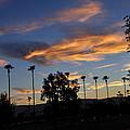 Smoky Sky The Morning After Fire by Jay Milo