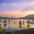 Smoky Sunset by Debra and Dave Vanderlaan