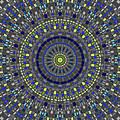 Smooth Squares Kaleidoscope by Joy McKenzie