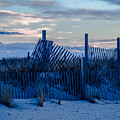 Smuggler's Beach Fence by Laura Ragosta