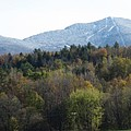 Smugglers Notch From Cambridge Vermont by Barbara McDevitt