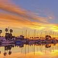 Smyrna Yacht Club Sunrise II by DM Photography- Dan Mongosa