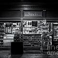 Snack Shop Bw by Jerry Fornarotto