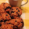 Snack Time - Muffins And Coffee by Barbara Griffin