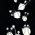 Snails by Olga Zsuzsanna Petrovits