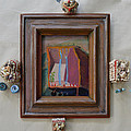 Snake Box - Framed by Nancy Mauerman