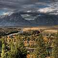 Snake River Storm by Wes and Dotty Weber