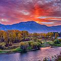 Snake River Sunrise by Greg Norrell