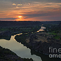 Snake River Sunset by Mike  Dawson
