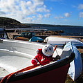 Snebamse On Boat by Chepcher Jones