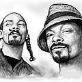 Snoop Dogg Group Art Drawing Sketch Poster 30x85cm by Kim Wang