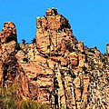 Snoopy Rock - Sabino Canyon Tucson Arizona  by Tap On Photo