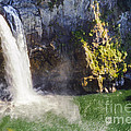 Snoqualime Falls And Pool by Bob Phillips