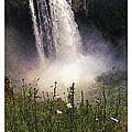 Snoqualmie Falls Wa. by Kenneth De Tore