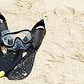 Snorkel Equipment by Luis Alvarenga