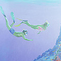 Snorklers by William Ireland