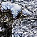 Snow And Icicles No. 2 by Belinda Greb
