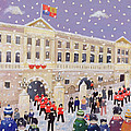 Snow At Buckingham Palace by William Cooper