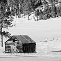Snow Barn by Paul Bartoszek