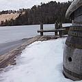 Snow Barrel by Two Bridges North