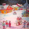 Snow Battle Winter Memories by Michael Litvack