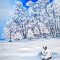 Snow Bunny by Phyllis Kaltenbach