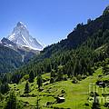 Snow-capped Matterhorn by Mats Silvan