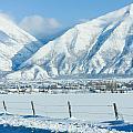 Snow Capped Mountains by Gloria Pasko
