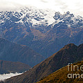 Snow Clouds In The Andes by Bob Phillips