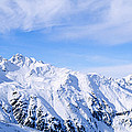 Snow Covered Alps, Schonjoch, Tirol by Panoramic Images