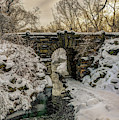 Snow-covered Glen Span Arch, Central by F. M. Kearney