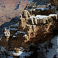 Snow Covered Grand Canyon by Luv Photography