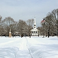 Snow Covered Guilford by Catie Canetti