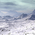 Snow Covered Mountains by Phil Perkins