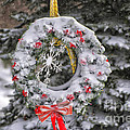 Snow Covered Wreath by Thomas Woolworth