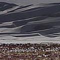 Snow Dunes By Night by Josh Baker