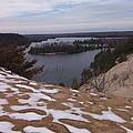 Snow Dunes by Two Bridges North