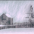 snow envelops Friendship by Jeff Folger