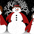Snow Family by Andee Design