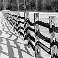 Snow Fence by Scott Hafer