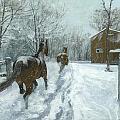 Snow Fun by Karen  Bockus