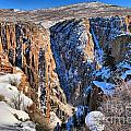 Snow In The Black Canyon by Adam Jewell