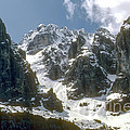 Snow In The Dolomites by Bob Phillips